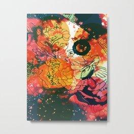 Chinese decorative pattern home decor Metal Print