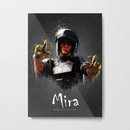 Mira Metal Print
