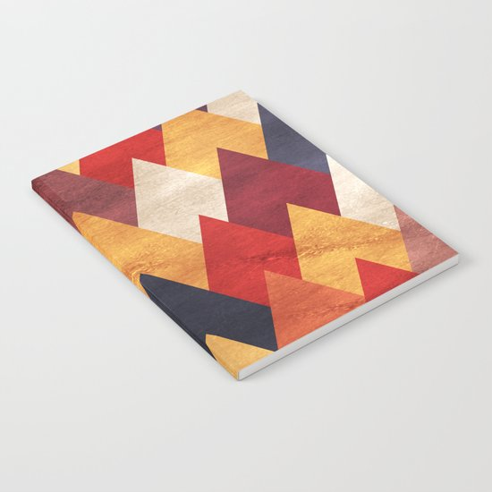 Eccentric Mountains Notebook
