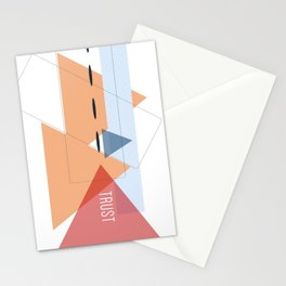 Trust in Shapes Stationery Cards