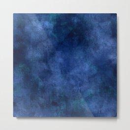 Blue Ombre Metal Print