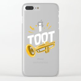 I Toot   Trumpets Clear iPhone Case