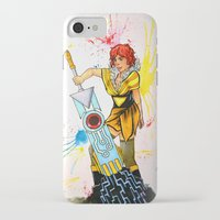 transistor iPhone & iPod Cases featuring Red Transistor by Salzburn Designs Shop