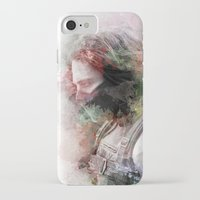 winter soldier iPhone & iPod Cases featuring Winter Soldier by NKlein Design
