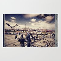 istanbul Area & Throw Rugs featuring Istanbul by Anto Bozzini