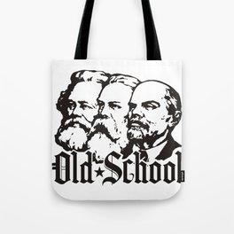 Old School Communism Tote Bag
