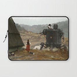 1920 - soup is waiting Laptop Sleeve