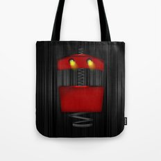 Tin Droid Tote Bag
