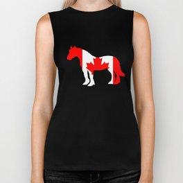 """Horse """"Canada"""" Biker Tank"""