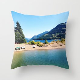 Strathcona Beach Throw Pillow