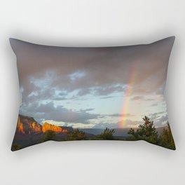 Sedona Rainbow Rectangular Pillow