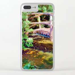 Japanese Garden Clear iPhone Case