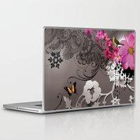 romantic Laptop & iPad Skins featuring Romantic by Million Dollar Design