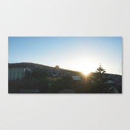 Sunrise in Valparaíso Canvas Print