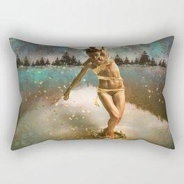 Tread Lightly Rectangular Pillow