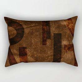 Stout Beer Typography Rectangular Pillow