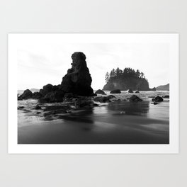 Trinidad State Beach, Humboldt County California Art Print