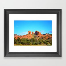Cathedral Rock Sedona Arizona Framed Art Print