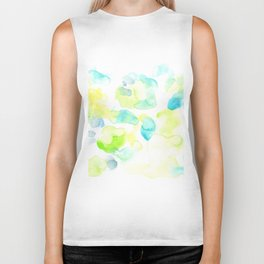 170722 Colour Loving 11  |Modern Watercolor Art | Abstract Watercolors Biker Tank