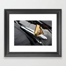 Hudson Hornet Framed Art Print