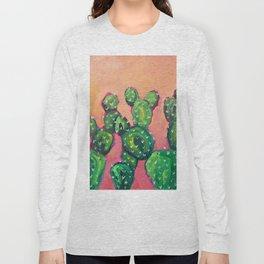 Prickly Pear Cacti Long Sleeve T-shirt