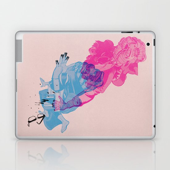 Nerd /// Fight Laptop & iPad Skin