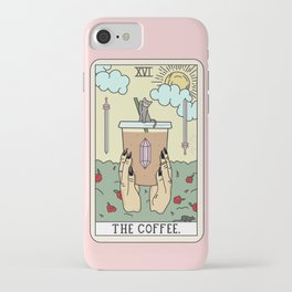 COFFEE READING iPhone Case