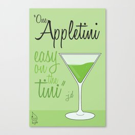 Tv drink quotes [ SCRUBS ] Canvas Print