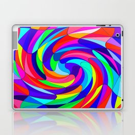 Crazy colours Laptop & iPad Skin