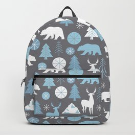 Mountain Animals Backpack