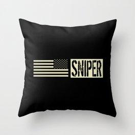 U.S. Military: Sniper Throw Pillow