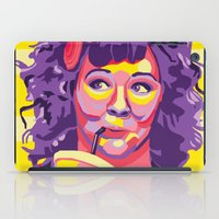 melissa smith iPad Cases featuring Melissa McCarthy by Rudi Rodebush