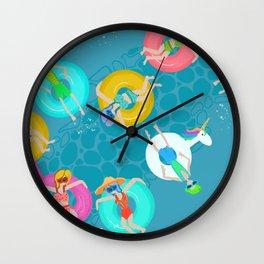 LazyRiver Summer 2 Wall Clock