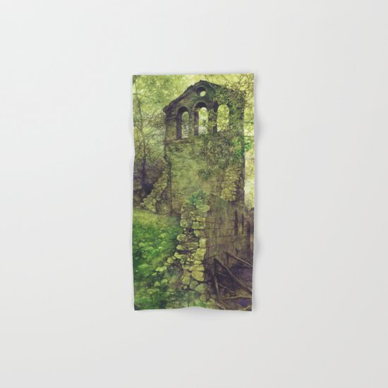 Ruins in the forest Hand & Bath Towel
