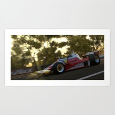 Ferrari At Bathurst Art Print