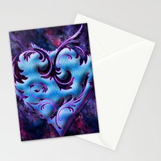 Heart Design Stationery Cards