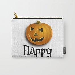 Halloween pumpkin  theme tshirt  Carry-All Pouch