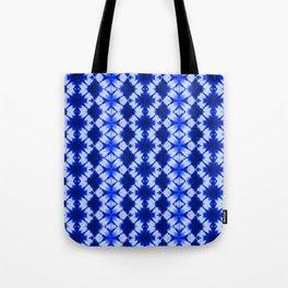 indigo shibori print Tote Bag