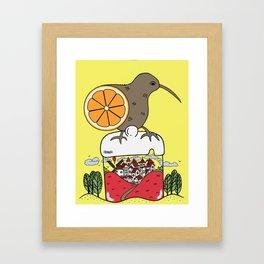 Jam World Framed Art Print
