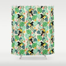 Toucan Island Shower Curtain