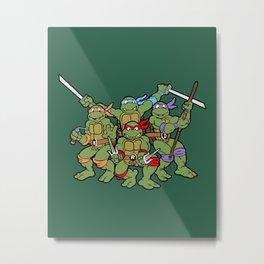Classic Turtles Metal Print