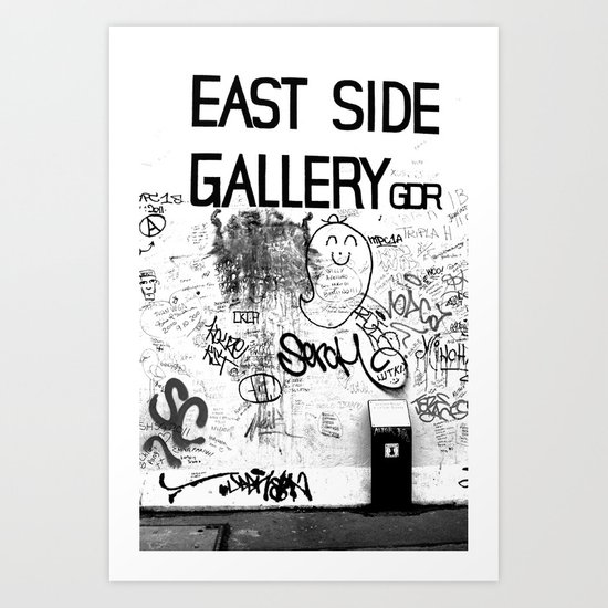 East Side Gallery - Berlin Art Print