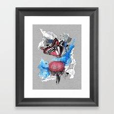 Butterfly I by carographic, Carolyn Mielke Framed Art Print