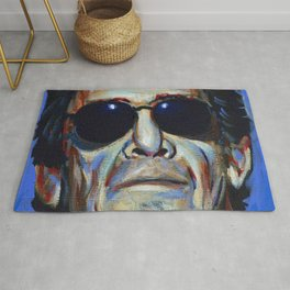 Lou Reed Rug