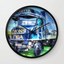 Lyons Tea van Wall Clock