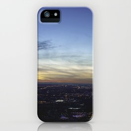 Boise Sunset iPhone Case