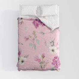 Pink Pattern 2 Comforters