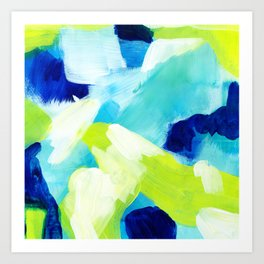 Summer brights abstract 1 Art Print