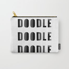 Doodle Doodle Doodle Carry-All Pouch