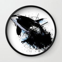 Oil escape Wall Clock